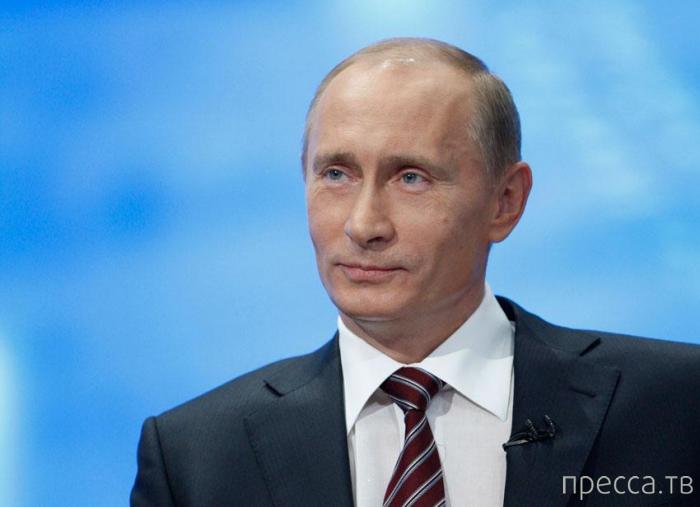 Хобби Владимира Путина (4 фото + 9 видео)