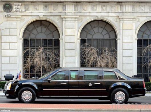 Служебный автомобиль Президента США Барака Обамы по прозвищу «Зверь» (11 фото + видео)