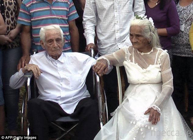 Необычное бракосочетание в (4 фото)