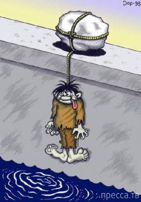 Веселые комиксы и карикатуры, часть 8 (24 фото)