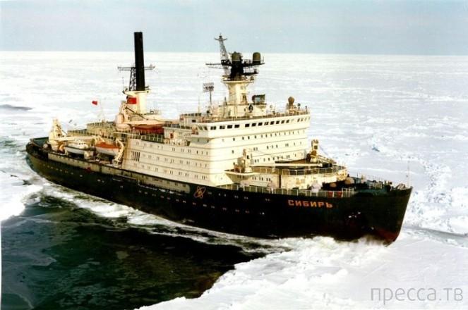 Топ 7: Советские атомные ледоколы (8 фото)