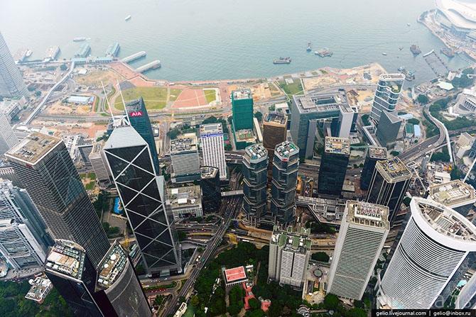 Гонконг с высоты (27 фото)