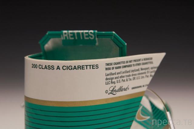 Впечатляющие кеды из сигаретных упаковок (7 фото)