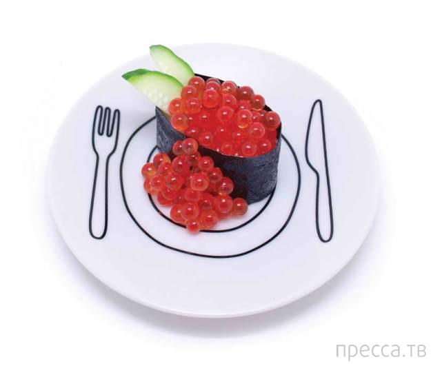 Тарелки от дизайнера Дункана Шоттона визуально увеличивают еду (8 фото)