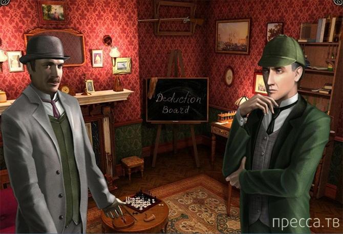 """Топ 10: Интересные факты об экранизации """"Шерлока Холмса"""" (13 фото)"""