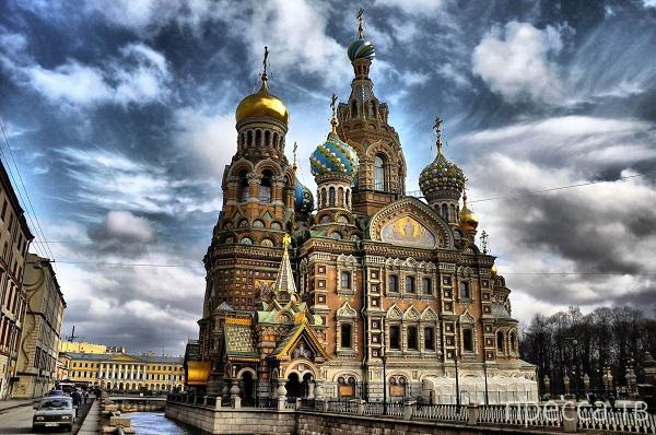 """Топ 7: Загадки петербургского храма """"Спас-на-Крови"""" (2 фото)"""