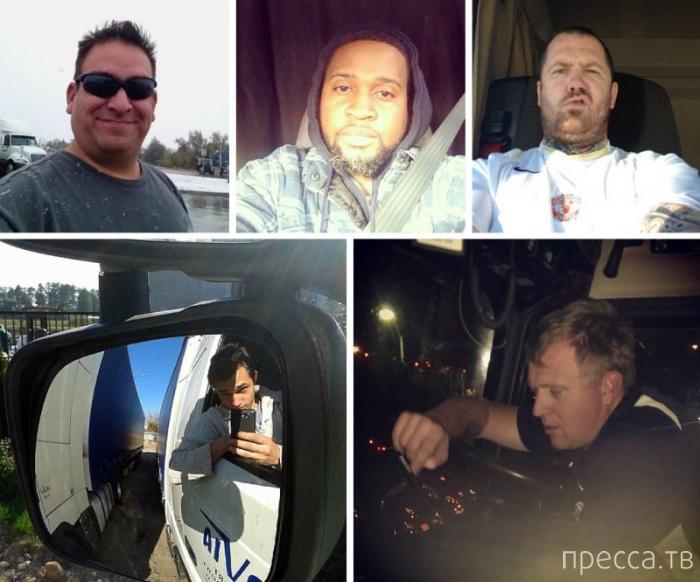Из фотодневников водителей-дальнобойщиков (14 фото)