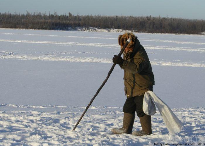 рыбалка в якутии на реке яна