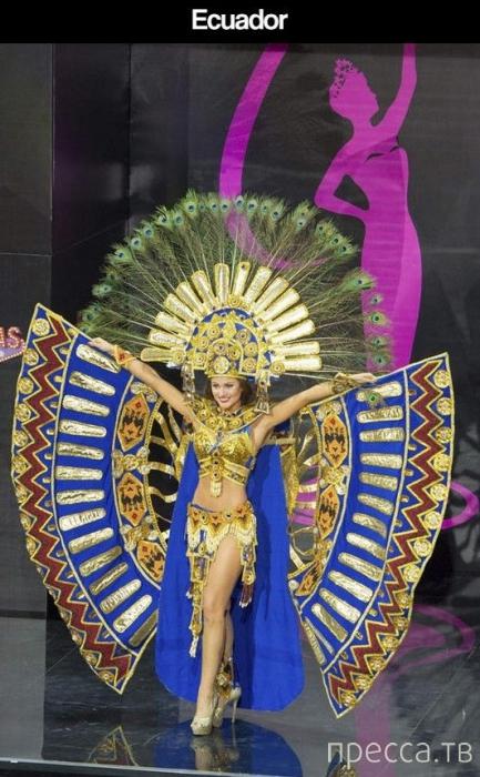 Самые яркие фотографии участниц конкурса Мисс Вселенная 2013 в национальных костюмах  (33 фото)
