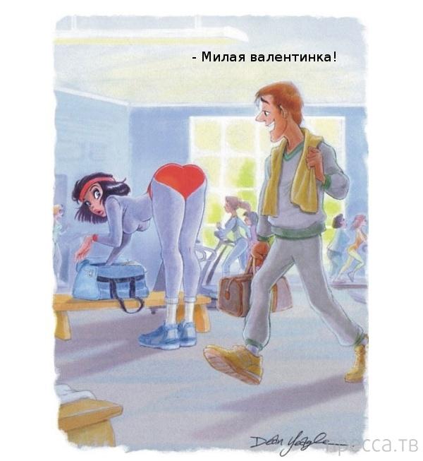 (18+) Комиксы для взрослых (23 фото)
