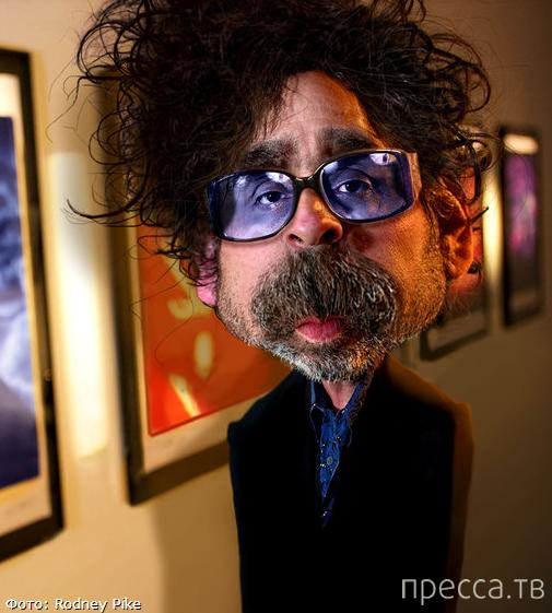 Фото-карикатуры на знаменитостей от Родни Пайка (16 фото)