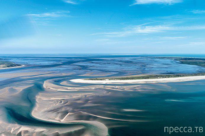 Мелководье - очень красивые фотографии (9 фото)