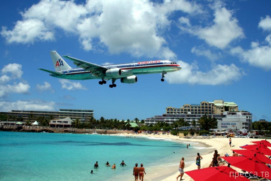 Лучшие аэропорты для наблюдений за посадкой самолетов (8 фото)