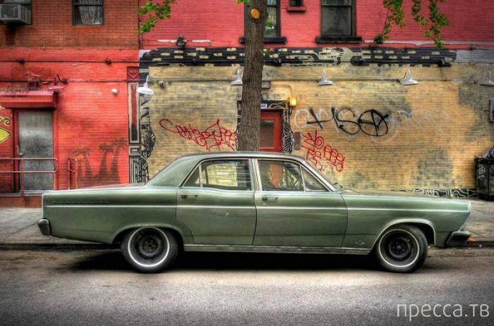 Ретро-автомобили Нью-Йорка (16 фото)