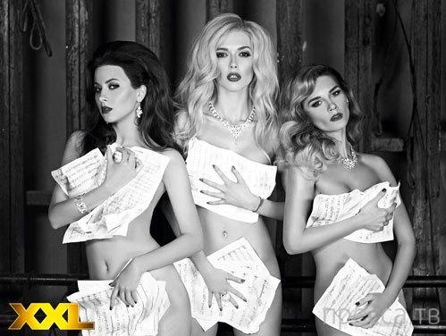 Мужской журнал раздел девушек из новой «ВИА Гры» (5 фото)
