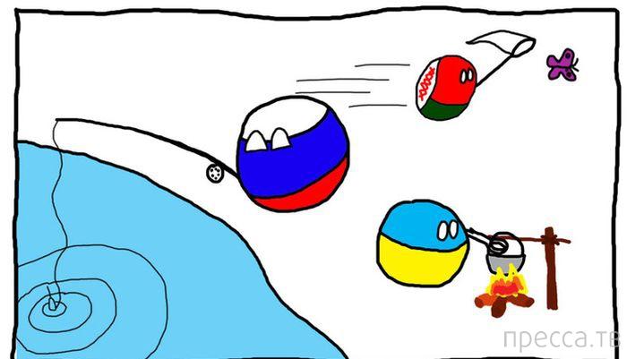 Веселые комиксы и карикатуры, часть 38 (15 фото)