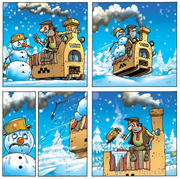 Веселая Коллекция Забавных Комиксов (50 фото)