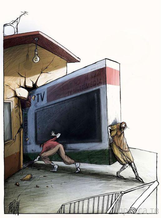 Проблемы в иллюстрациях (22 фото)