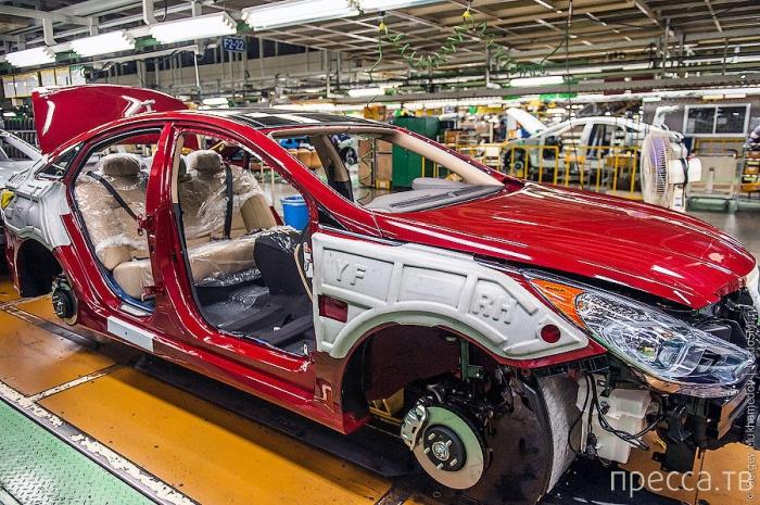 Корейский завод Hyundai в Асане (35 фото)
