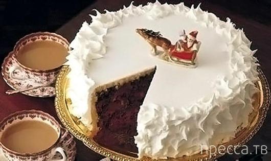 """Рецепт новогоднего торта """"Арктика"""""""