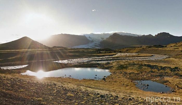 Виртуальное путешествие вокруг Исландии (26 фото)