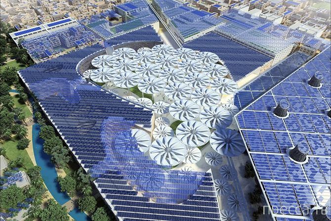 Топ 10: Уникальные проекты городов будущего (16 фото)
