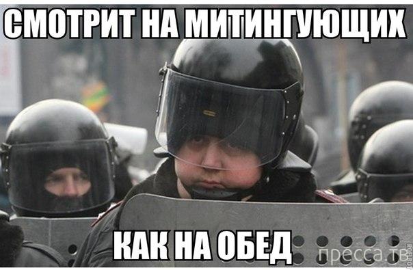 Черный юмор Майдана - 2014 (33 фото)