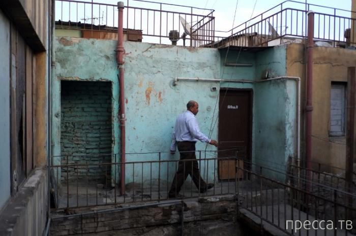 Каир. Жизнь на крыше (12 фото)