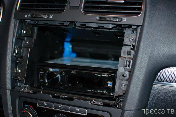 Установка планшета в автомобиль своими руками