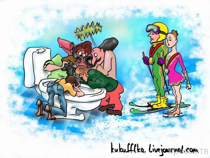 Веселые комиксы и карикатуры, часть 82 (17 фото)