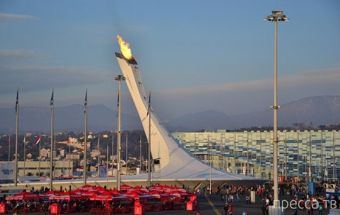 Прогулка по Олимпийскому парку в Сочи (45 фото)