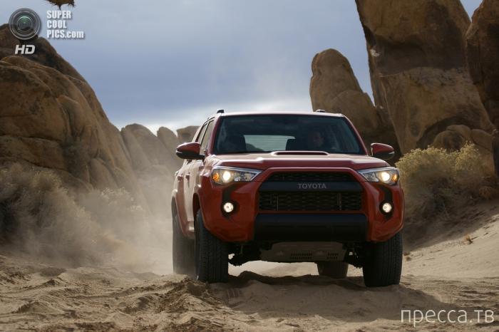 Новинки от американского подразделения Toyota  (10 фото)