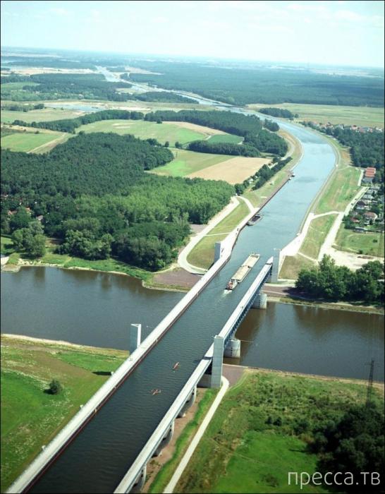 Водные мосты (5 фото)