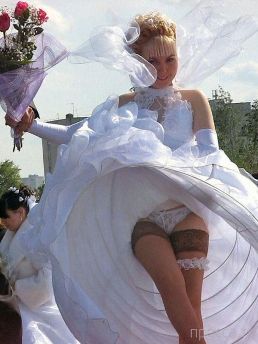Под юбкой видео у невест