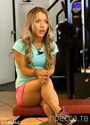 Аманде Лой из Скоттсдейла (Аризона, США) - культуристка ростом 122 см (7 фото)