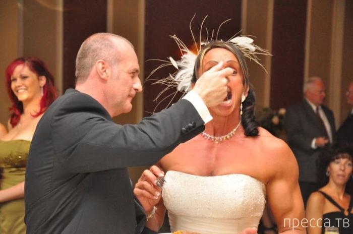 Необычная невеста Габриэль Хеймс (12 фото)