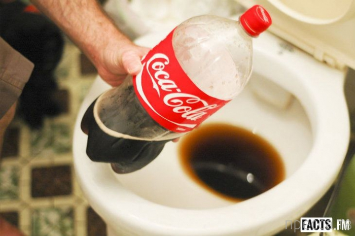 Топ 10: Необычные способы применения кока-колы (11 фото)