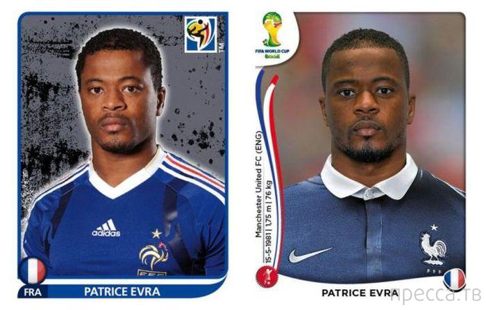 Известные футболисты тогда и сейчас (20 фото)