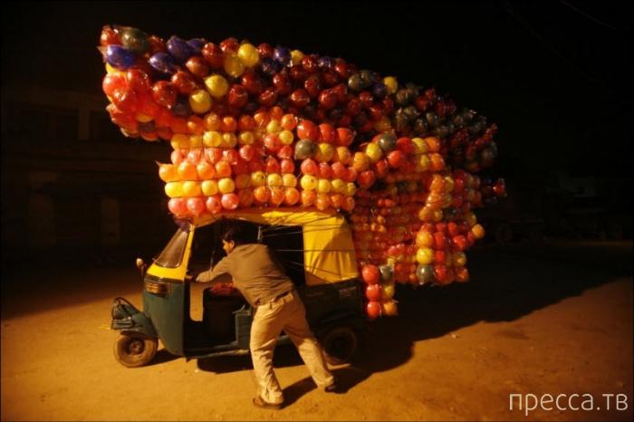 Прикольные фотографии из серии: Мастера грузоперевозок (44 фото)