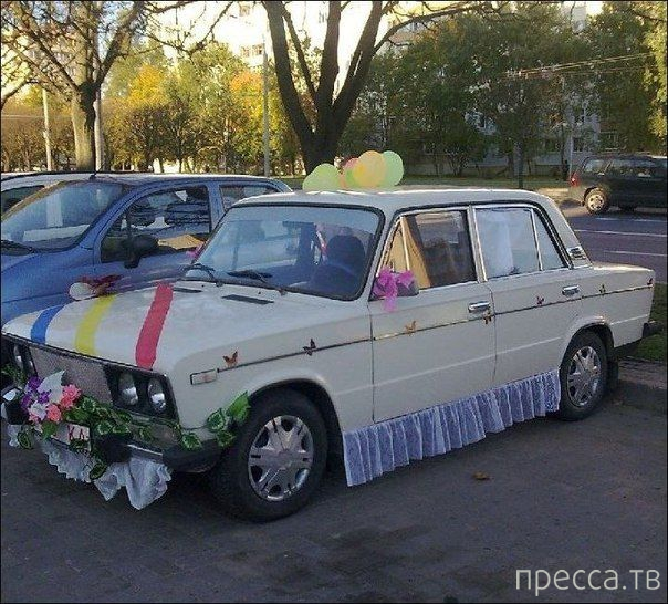 Не очень удачные и прикольные свадебные фотографии (20 фото)