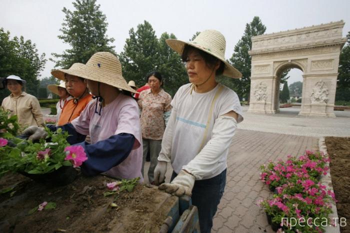 Китайские копии мировых достопримечательностей (20 фото)