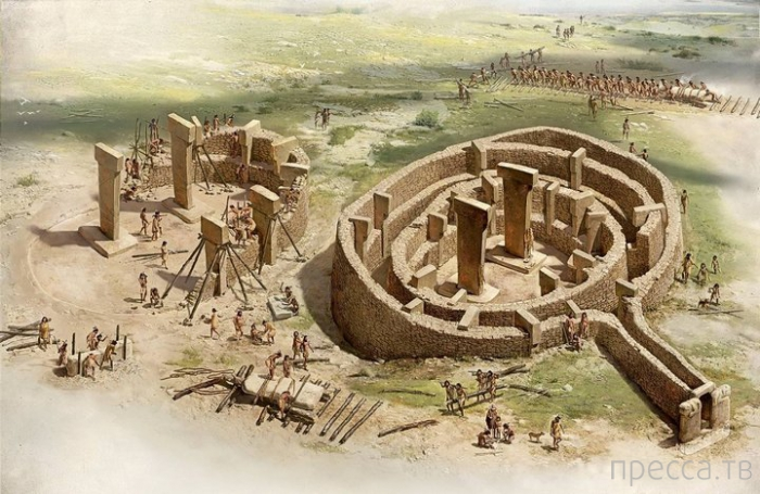 Гебекли-Тепе – одна из самых древних загадок мира на Юго-Востоке Турции (8 фото)