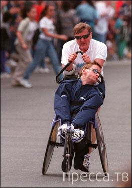 Дик Хойт - самый сильный папа (5 фото)