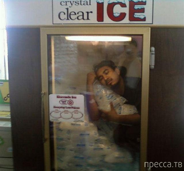 """Прикольные фотографии на тему : """"Летняя жара"""" (24 фото)"""