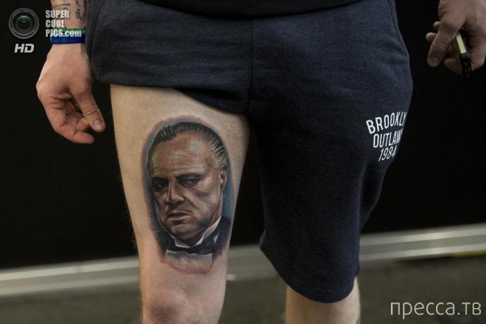 "Выставка-салон тату - ""The Great British Tattoo Show"" в Лондоне (28 фото)"