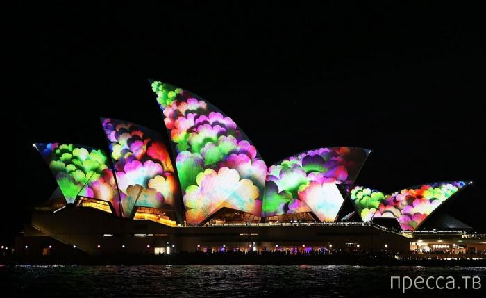 """""""Vivid Sydney"""" - ежегодный фестиваль света в Сиднее (16 фото)"""