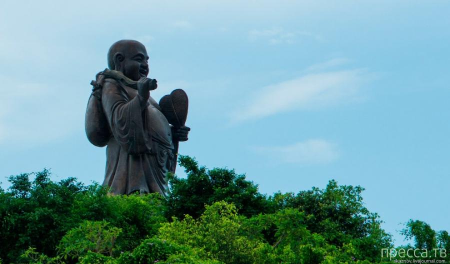Крупнейший буддистский комплекс во Вьетнаме Bai Dinh (32 фото)