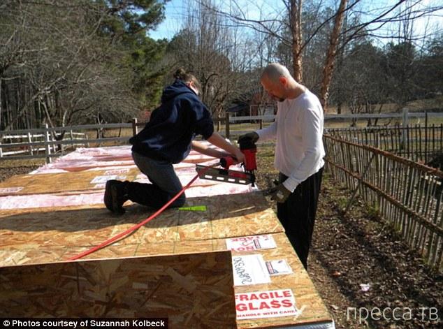 14-летняя американская школьница построила дом за 10 000 долларов (13 фото)