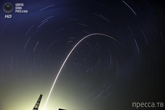 Фотографии, сделанные во время запуска космического корабля «Союз ТМА-13М» с космодрома «Байконур» (10 фото)
