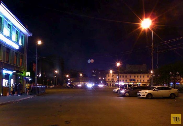 Суровые московские эвакуаторы (4 фото)